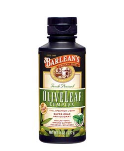 Barlean's Organic Oils Fresh Pressed Olive Leaf Complex Product Shot