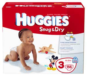 Amazon.com: Huggies Snug & Dry Diapers, Size 3, Giant Pack, 156 Count