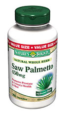 Nature's Bounty Saw Palmetto 450 mg (250 Capsules)