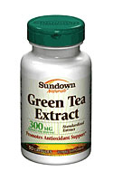 Sundown Naturals Green Tea Extract (Standardized) 300 mg (50 Capsules)