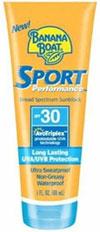 Banana Boat Sport Performance Lotion SPF 30, 1 fluid ounce Product Shot