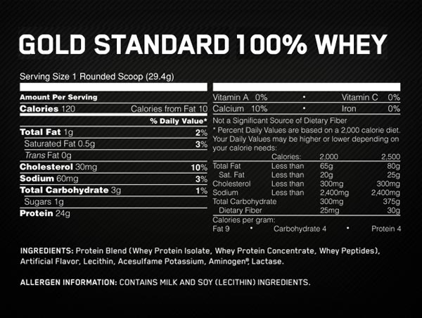 Optimum Nutrition Gold Standard Whey Double Rich Chocolate  Lb