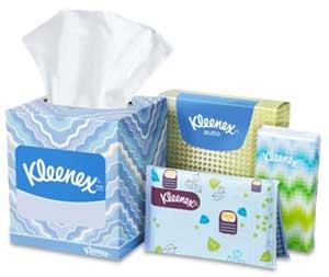 Kleenex Product Line