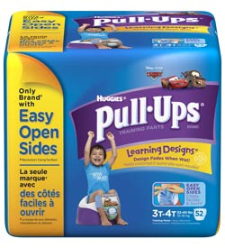HUGGIES Pull-Ups Training Pants with Learning Designs, Boys, 3T-4T, 52-Count Product Shot