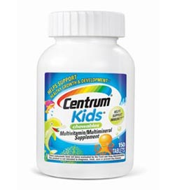 Centrum Kids Multivitamin, 150-Count Product Shot