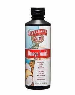 Barlean's Organic Oils Pina Colada Omega Swirl Fish Oil Product Shot