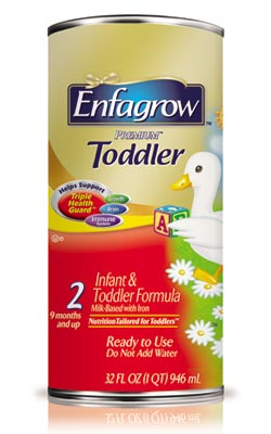 Enfagrow PREMIUM Toddler 1-Quart Ready-to-Use Cans