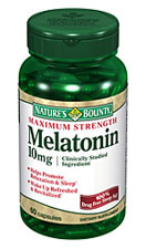 Nature's Bounty Maximum Strength Melatonin 10 mg (60 Capsules)