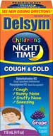 Delsym Children's Night Time Cough & Cold Grape (4 Ounces)