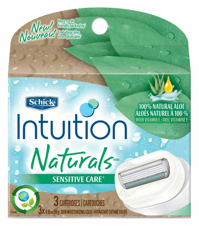 3 Pack Schick Intuition Women Sensitive Care Naturals ...