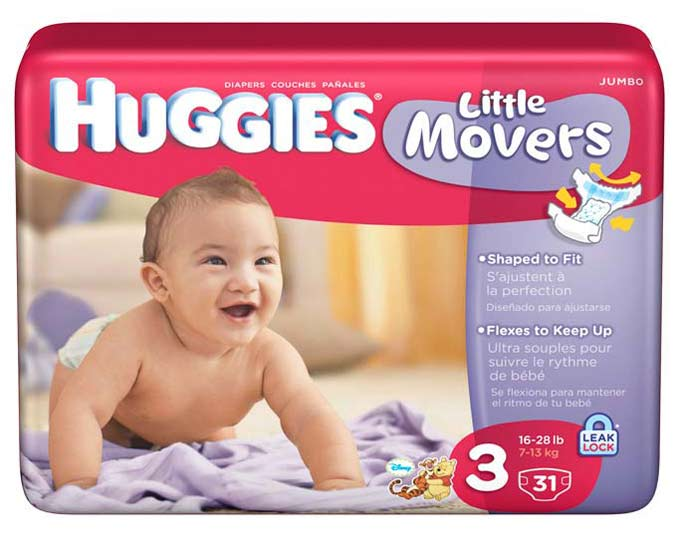 Amazon.com: Huggies Little Movers, Size 3, 128 Count (Packaging May