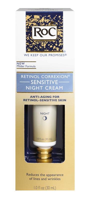 Amazon.com: RoC Retinol Correxion Sensitive Night Cream, 1 Ounce
