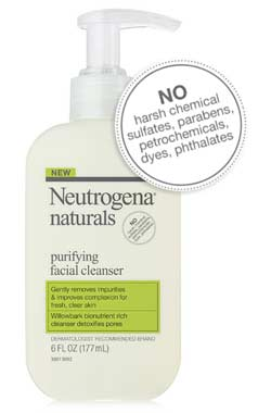 Neutrogena Naturals Purifying Facial Cleanser product shot