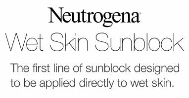 Wet Skin Sunblock