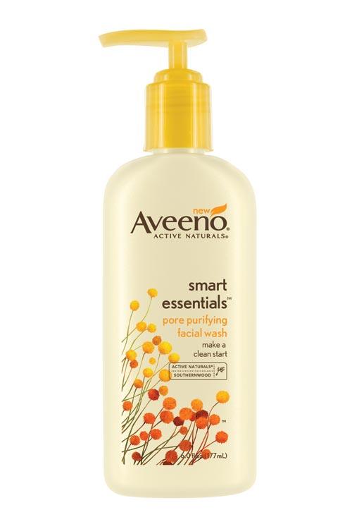 Aveeno Smart Essentials Pore Purifying Facial Wash, 6 Ounce (Pack of 2