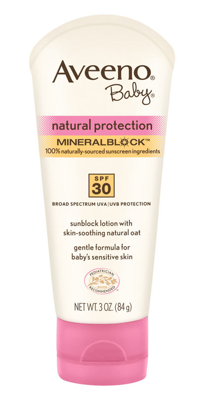 Amazon.com: Aveeno Baby Natural Protection SPF 30 Lotion, 3-Ounces