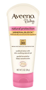 AVEENO Baby Natural Protection Lotion SPF 30