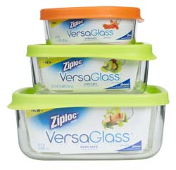 Ziploc VersaGlass Container, Variety Pack (3-Count) Product Shot