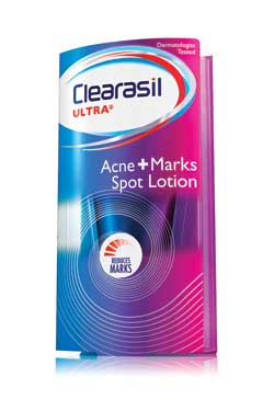 CLEARASIL Ultra Acne+Marks Spot Lotion (1 Ounce) Product Shot