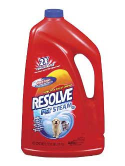 RESOLVE® Pet Cleaner for Steam Machines (48 Ounces) Product Shot