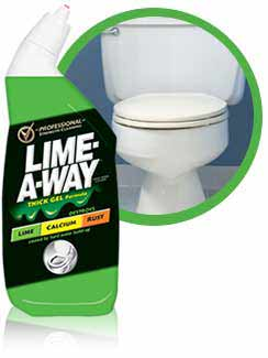 LIME-A-WAY Toilet Bowl Cleaner Liquid (24 Ounces) Product Shot