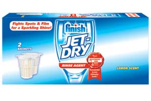 JET-DRY Rinse Agent Solid Lemon Scented (2.68 Ounces)