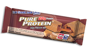Pure High Protein Bar (78 grams) - Peanut Butter Caramel Surprise