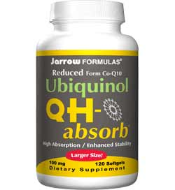 Jarrow Formulas QH-Absorb, 100mg, 120 Softgels Product Shot