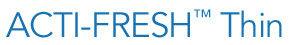 CAREFREE ACTI-FRESH BODY SHAPE Thin logo
