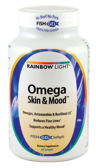 Amazon.com: Rainbow Light Omega Skin and Mood Vitamins, 60 Count