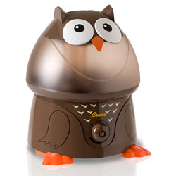 Crane Adorable Ultrasonic Cool Mist Humidifier, Owl