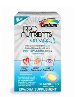 Centrum ProNutrients Omega 3, 50-Count Product Shot
