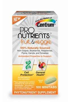 Centrum ProNutrients Fruit and Veggie, 100-Count Product Shot