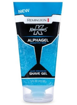 Remington King of Shaves Alphagel Sensitive Skin Shave Gel (Pack of 2) Lifestyle Shot