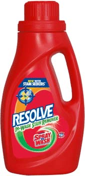 RESOLVE (formerly SPRAY N WASH) In Wash Stain Remover (40 Ounces) Product Shot