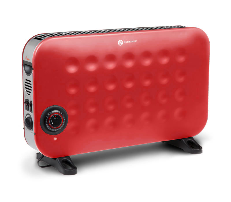 Crane convection portable red heater home office small spaces energy smart room ebay - Small portable space heater paint ...
