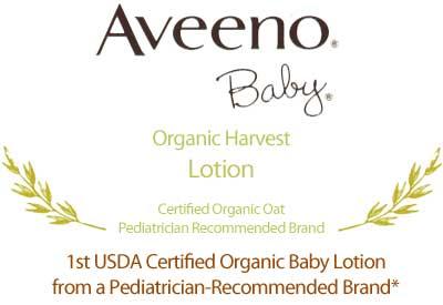 Aveeno Baby Organic Harvest