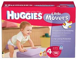 HUGGIES Snug & Dry Diapers Product Shot