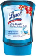 LYSOL No Touch Kitchen System - Twin Refill Berry Product Shot