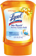 LYSOL No Touch Kitchen System - Twin Refill Tangerine Product Shot