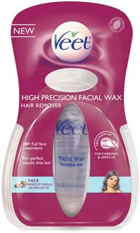 VEET High Precision Warm Wax (Over 20 Uses) Face (0.5 Ounces) Product Shot