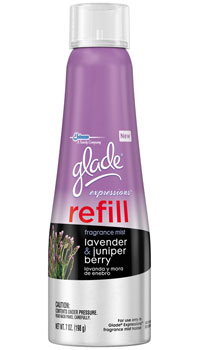 Glade Expressions Fragrance Mist Refill, Lavender and Juniper Berry Product Shot