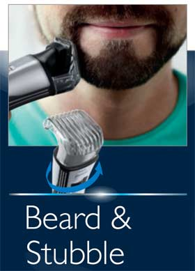 norelco qs6160 razor cordless rechargeable shaver beard mustache goatee trimmer ebay. Black Bedroom Furniture Sets. Home Design Ideas