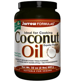 Jarrow Formulas Coconut Oil 100 Percent Organic, 32 Ounce Product Shot