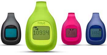 Fitbit Zip Wireless Activity Tracker comes in 4 colors