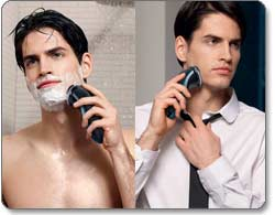 Philips Norelco AT810 PowerTouch with Aquatec Rechargeable Cordless Electric Razor Product Shot