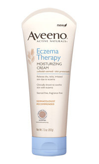 AVEENO Eczema Cream, 7.3-Ounces Product Shot