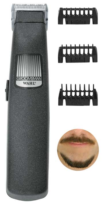 wahl pro beard mustache trimmer kit set grooming new free shipping ebay. Black Bedroom Furniture Sets. Home Design Ideas