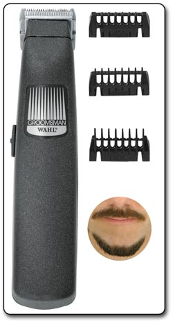 Wahl Cordless/Battery Operated Beard and Mustache Trimmer