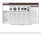 Compare full line of Omron Pedometers